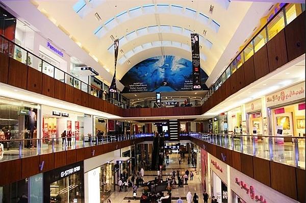 迪拜商场装修 图片