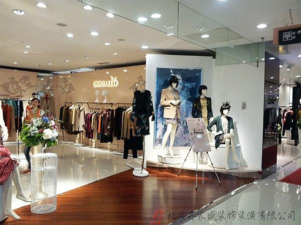 北京欧谷手机专营店_欧泊兰奴服装专卖店装修效果